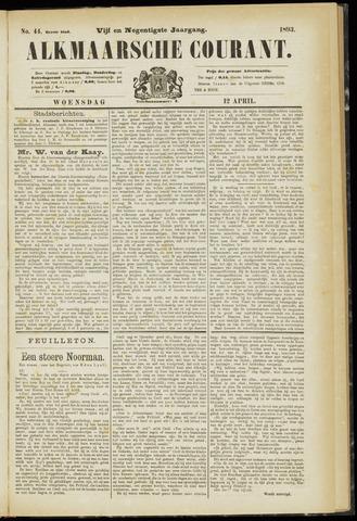 Alkmaarsche Courant 1893-04-12