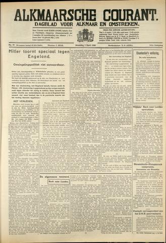Alkmaarsche Courant 1939-04-03