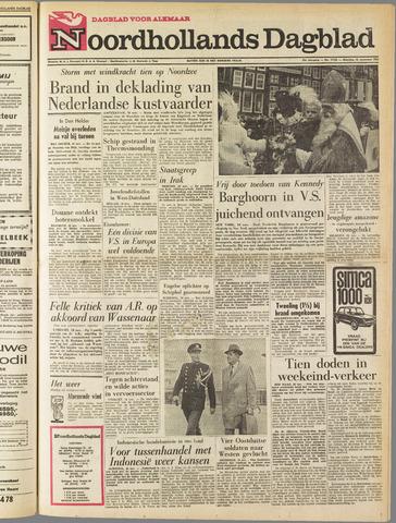 Noordhollands Dagblad : dagblad voor Alkmaar en omgeving 1963-11-18