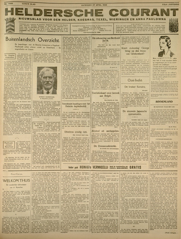Heldersche Courant 1935-04-27
