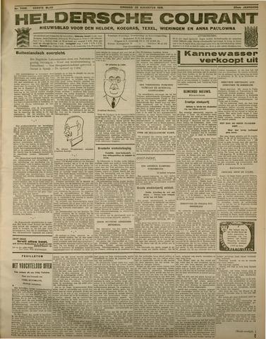 Heldersche Courant 1931-08-25