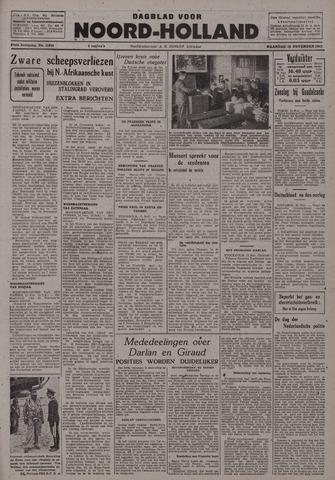 Dagblad Noord-Holland, Schager editie 1942-11-16