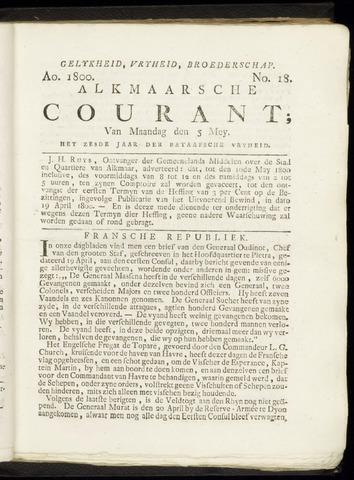 Alkmaarsche Courant 1800-05-05