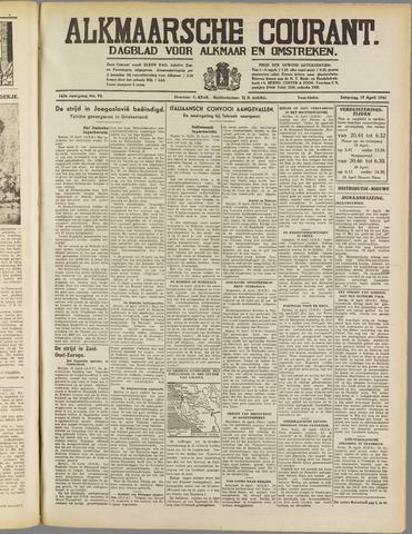 Alkmaarsche Courant 1941-04-19