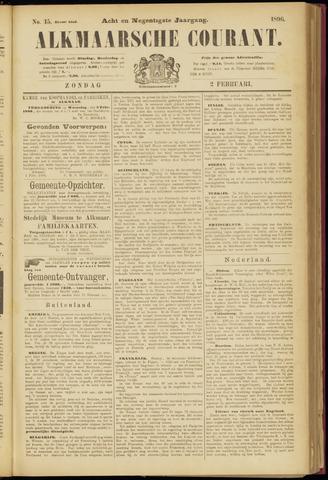 Alkmaarsche Courant 1896-02-02