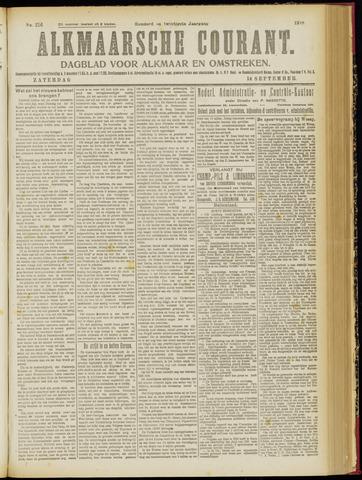 Alkmaarsche Courant 1918-09-14