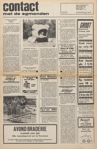 Contact met de Egmonden 1972-06-21