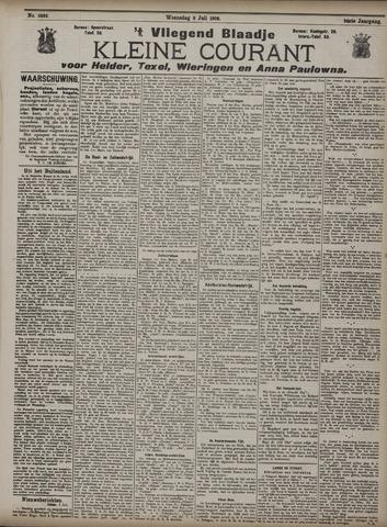 Vliegend blaadje : nieuws- en advertentiebode voor Den Helder 1908-07-08