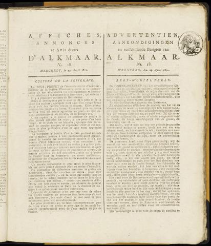 Alkmaarsche Courant 1812-04-29