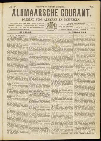 Alkmaarsche Courant 1906-02-13