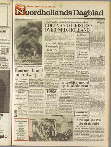 Noordhollands Dagblad : dagblad voor Alkmaar en omgeving 1967-08-05