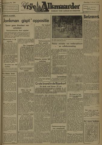 De Vrije Alkmaarder 1947-03-01