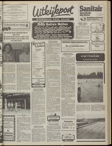 Uitkijkpost : nieuwsblad voor Heiloo e.o. 1978-08-23