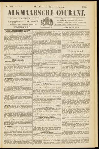 Alkmaarsche Courant 1903-09-02