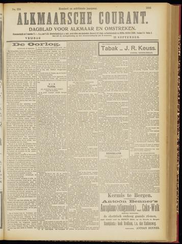 Alkmaarsche Courant 1916-09-22