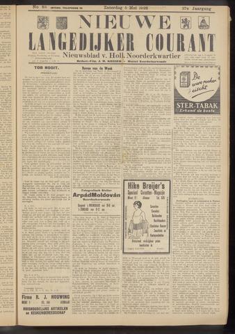 Nieuwe Langedijker Courant 1928-05-05