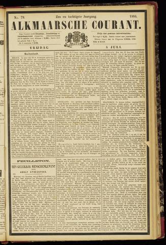 Alkmaarsche Courant 1884-07-04