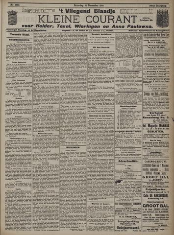 Vliegend blaadje : nieuws- en advertentiebode voor Den Helder 1910-12-31