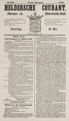 Heldersche Courant 1870-05-28