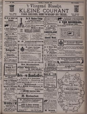 Vliegend blaadje : nieuws- en advertentiebode voor Den Helder 1897-12-04