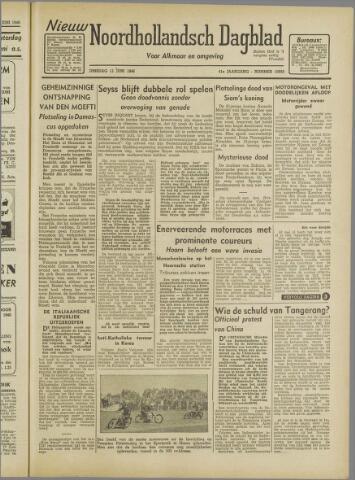 Nieuw Noordhollandsch Dagblad : voor Alkmaar en omgeving 1946-06-11