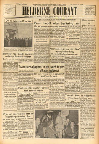 Heldersche Courant 1952-12-05