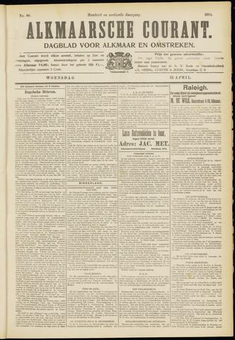 Alkmaarsche Courant 1914-04-15
