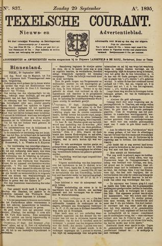 Texelsche Courant 1895-09-29