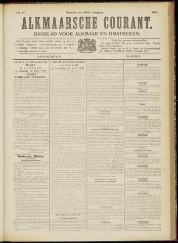 Alkmaarsche Courant 1909-04-15