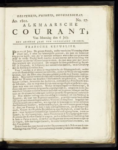 Alkmaarsche Courant 1801-07-06