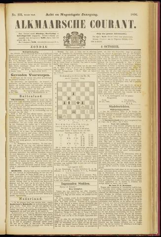 Alkmaarsche Courant 1896-10-04