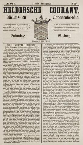 Heldersche Courant 1870-06-25