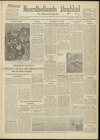 Nieuw Noordhollandsch Dagblad : voor Alkmaar en omgeving 1948-01-06
