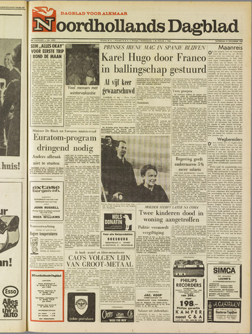Noordhollands Dagblad : dagblad voor Alkmaar en omgeving 1968-12-21