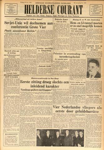 Heldersche Courant 1953-11-27