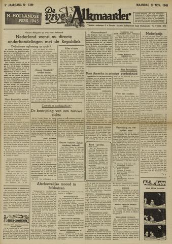 De Vrije Alkmaarder 1948-11-22