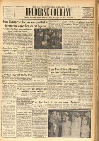 Heldersche Courant 1952-10-28
