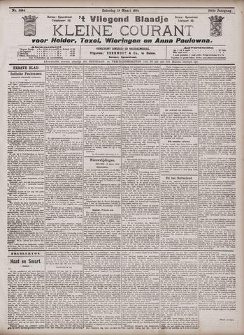 Vliegend blaadje : nieuws- en advertentiebode voor Den Helder 1904-03-19