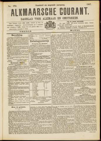 Alkmaarsche Courant 1907-07-26