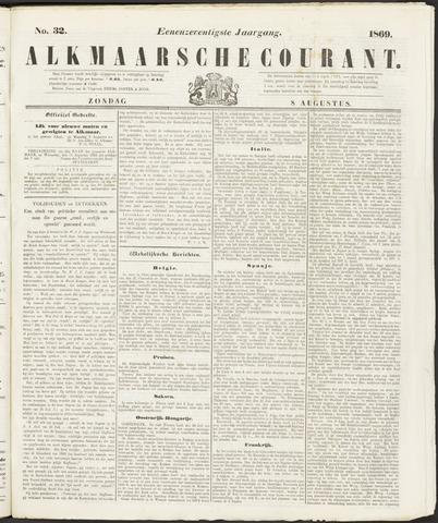 Alkmaarsche Courant 1869-08-08