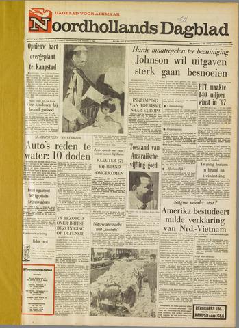 Noordhollands Dagblad : dagblad voor Alkmaar en omgeving 1968-01-02