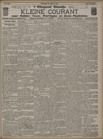 Vliegend blaadje : nieuws- en advertentiebode voor Den Helder 1909-10-27