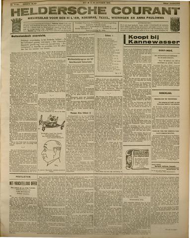 Heldersche Courant 1931-10-20