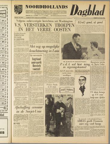 Noordhollands Dagblad : dagblad voor Alkmaar en omgeving 1961-03-24