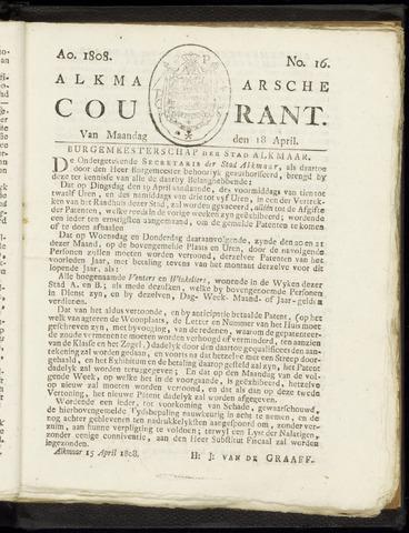 Alkmaarsche Courant 1808-04-18