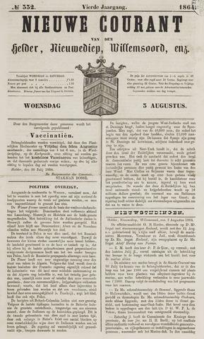 Nieuwe Courant van Den Helder 1864-08-03