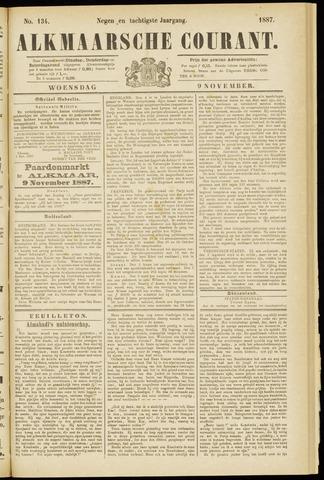 Alkmaarsche Courant 1887-11-09