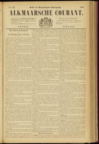 Alkmaarsche Courant 1896-03-15