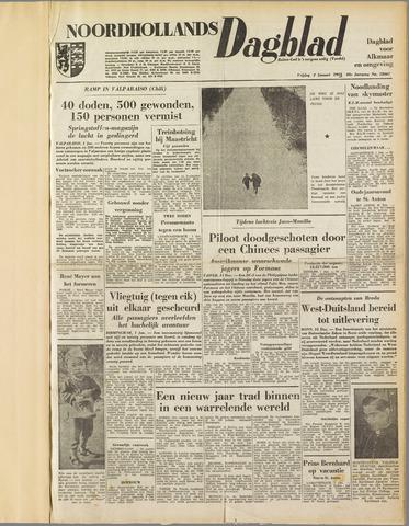 Noordhollands Dagblad : dagblad voor Alkmaar en omgeving 1953-01-02