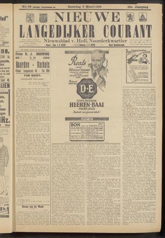Nieuwe Langedijker Courant 1929-03-09